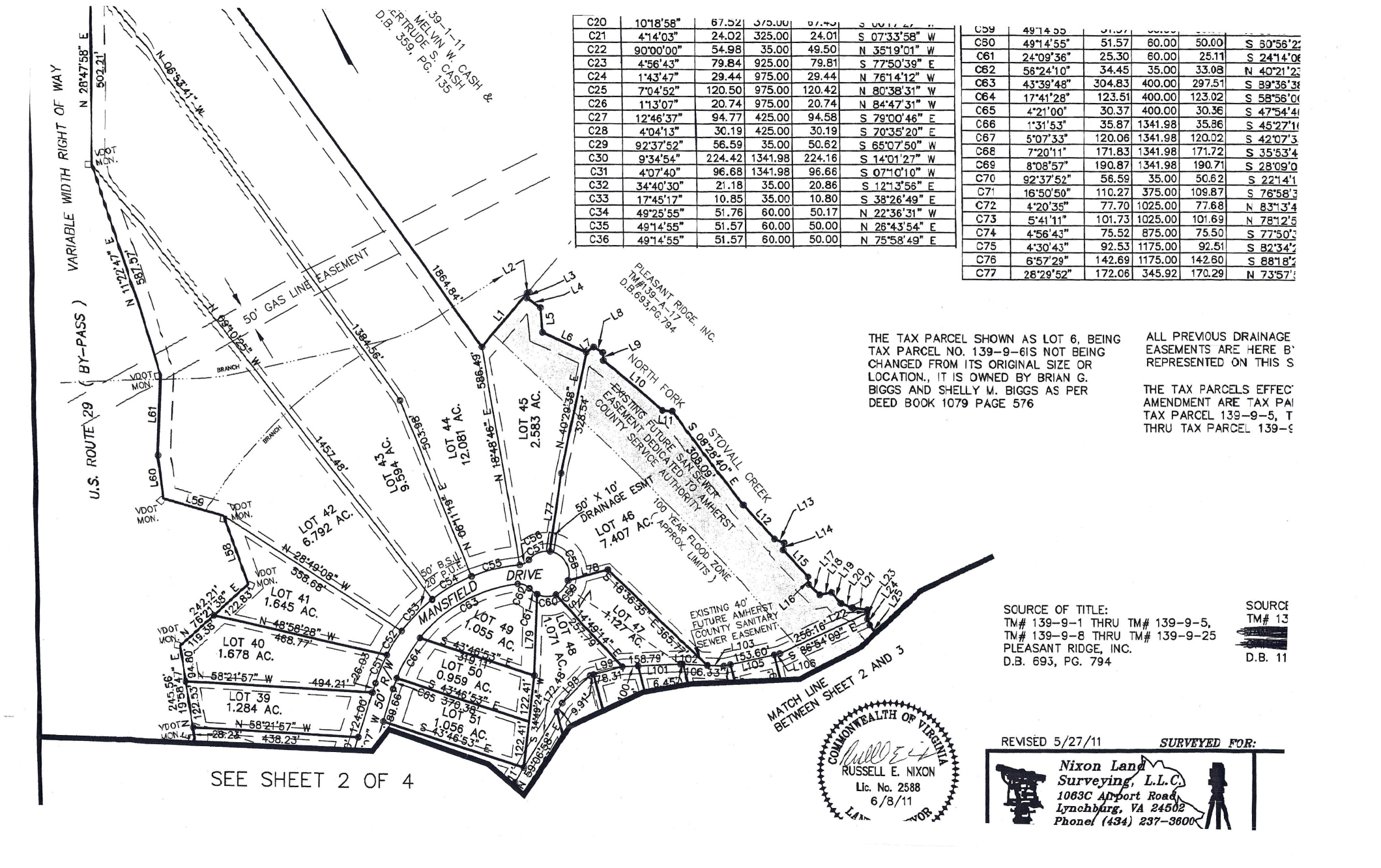 New Section plat for Pleasant Ridge-page-002